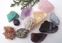 Natural Raw CRYSTAL & FOSSIL SPECIMENS - Massive Choice! Healing Reiki Gemstones