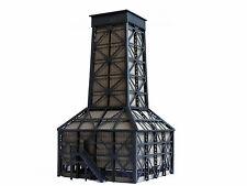 Modellbahn Union N-i00016 - Hölzerner Kühlturm nach einem Vorbild um 1900 grau