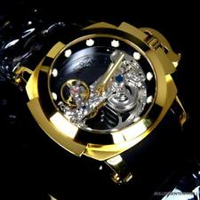 Invicta 53mm Coalition Forces Ghost Automatic Skeleton Dial Silicone Strap Watch