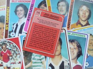 Topps Scottish Football Cards - Red Back (1979) - Complete Your Collection