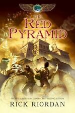The Kane Chronicles: The Red Pyramid by Rick Riordan (2010, Hardcover)