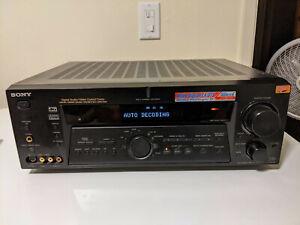Sony STR-DE985 AV Receiver Stereo Home Theater Surround Sound 6.1 Tested