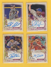2017 Topps Gypsy Queen Robert Gsellman RC Mats Rookie On Card Auto