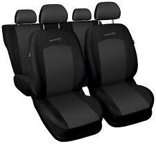 Sitzbezüge Sitzbezug Schonbezüge für Fiat Punto Dunkelgrau Sportline Komplettset