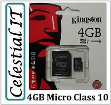 Kingston 4GB SD Camera Memory Cards