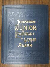 Scott International Junior Stamp Album 1933 Unused