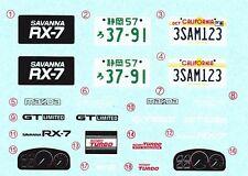 TAMIYA Decal 24060 1/24 Mazda Savanna RX-7 GT-Limited