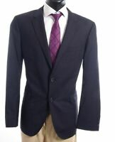 HUGO BOSS Sakko Jacket The James4 Gr.54 blau gestreift Einreiher 2-Knopf -S500