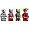 LEGO Avengers Endgame Iron Man Minifigures - Tony Stark Armor Suits 76125 Rare