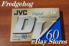 A JVC MINI DV DIGITAL VIDEO CAMCORDER TAPE / CASSETTE - SUPERB QUALITY - NEW