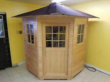 4 - 5 Person Large Outdoor FIR Far Infrared Sauna House Indoor Outdoor