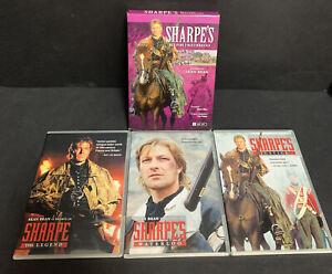 Sharpes Set Five DVD 3 Disc set Waterloo Justice Legend 2011 Tested Sean Bean