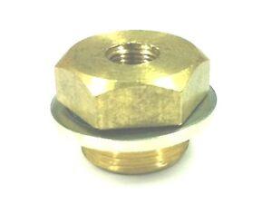 Gauge Adapter Oil, Water, M22x1.5 to 1/8 NPT (081)