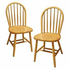 Winsome Wood Windsor Dining Chair (Set of 2) - 53999, Natura