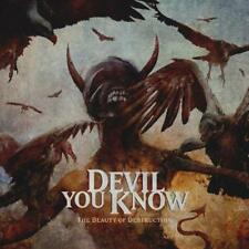 Devil You Know - The Beauty Of Destruction (NEW CD DIGIPACK)