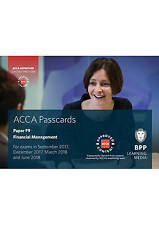 ACCA F9 Financial Management: Passcards by BPP Learning Media (Spiral bound,...