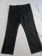 Wrangler 82BK Sta Prest Pants Tag 38x30 Measure 37x30 Polyester Dress Slacks