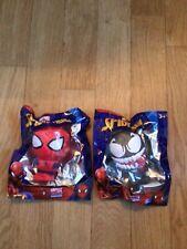 Marvel Avengers Squishy Palz x 2 Spider-Man & Venom