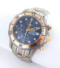 Omega Seamaster Cronografo Subacqueo Orologio da Uomo Titanio Acciaio / Oro Rosa