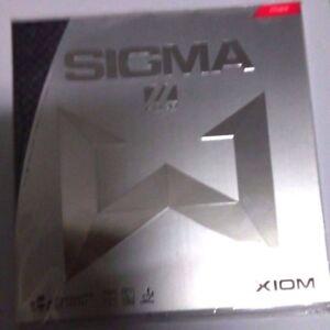 1x Original XIOM SIGMA II Euro Table Tennis Rubber RED  Color , MAX Sponge