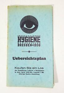 Übersichtsplan Internationale Hygiene Ausstellung Dresden 1930 (H3