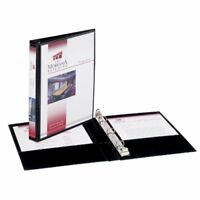 "Avery View Binder - Half-letter - 5.50"" X 8.50"" - Round Ring Fastener - 0.50"""