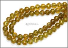 """15.7"""" Green Garnet Grossular Round Beads 5.8mm #67068"""