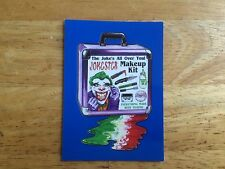 2017 WACKY PACKAGES 50TH ANNIVERSARY BLUE STICKER THE JOKER JOKESTER MAKEUP KIT