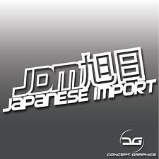 JDM Rising Sun Kanji Drifting Car Vinyl Decal Bumper Sticker Jap Funny Import