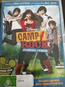 Camp Rock (DVD, R4, 2008) Disney #A