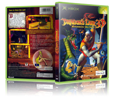 Dragon's Lair 3D: Return to the Lair - Replacement Xbox Cover and Case. NO GAME!