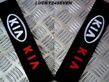2 Car Seat Belt Shoulder Cover Pads For KIA - sportage sorento sedona ceed soul