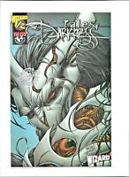 TALES OF THE DARKNESS 1/2 Wizard SILVER FOIL Special Edition TOP COW COMICS NM