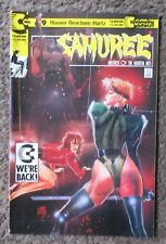 Collection Here Samuree #6 In Near Mint Condition *xk Continuity Comics 1987 Series