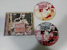 ALEJANDRO FERNANDEZ MEXICO MADRID EN DIRECTO Y SIN ESCALAS CD + DVD 2005 MALU