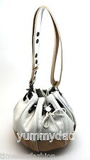 MIMCO SOHO COCOON LEATHER BAG IN WHITE BNWT RRP$349