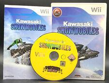 """NINTENDO WII SPIEL"""" KAWASAKI SNOWMOBILES """" KOMPLETT"""