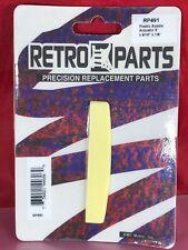 "NEW - Retro Parts 3"" Acoustic Saddle- CREAM, RP491"