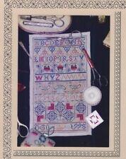 """Daisy Sampler"" 17th Century DARLENE O'STEEN The Needle's Prayse Chart ©1998 OOP"