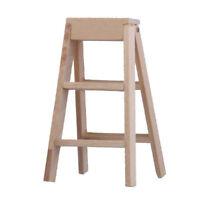 1:12 Dollhouse Miniature Furniture Wooden Ladder S4F9 O2R6