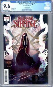 Death of Doctor Strange #1  Stephanie Hans 1:25 Variant Marvel 1st Print CGC 9.6