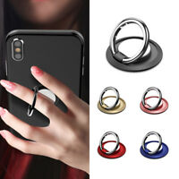 1Pc 360° Rotating Magnetic Mobile Phone Finger Grip Ring Holder Stand Universal