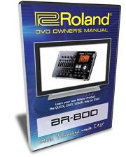 Roland (Boss) BR-800 DVD Video Tutorial Manual Help
