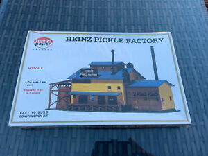 Heinz Pickle Factory Model Power - No 465 - New & Sealed - Construction Kit