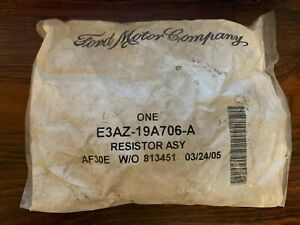 Ford Blow Motor Resistor E3AZ-19A706-A