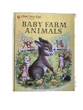A Little Golden Book Baby Farm Animals Illustrated by Garth Williams Vintage