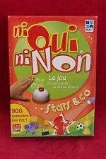 Ni Oui Ni Non - Edition Spéciale Stars & Co - jeu de société d'occasion complet