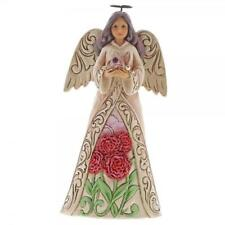 Jim Shore Heartwood Creek Birthstone Angel January Boxed 6001562