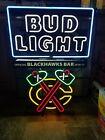 2016-17 Bud light beer Chicago Blackhawks NHL hockey neon light up bar sign