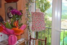 blouse bonpoint 18 mois liberty petites fleurs rouge vert brodee main